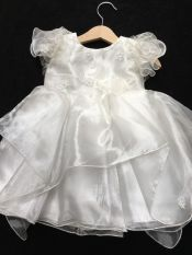 Kinder Christening / Party Dress Ivory 12-18 mths