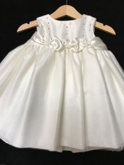 Christening / Party Dress Ivory 6-12 mths