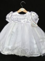 Kinder Christening Dress White 6-12 mths