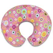 Boppy Pillow Pink Wild Flowers